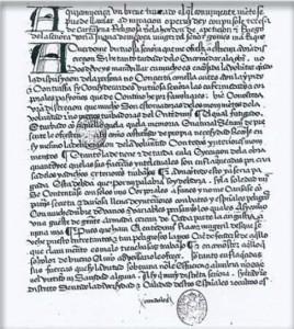 Página inicial del manuscrito de Admiraçión Operum Dey, Biblioteca de San Lorenzo del Escorial.